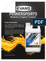 Powersports Spec Sheet Computer coolant