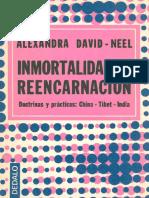 (Alexandra David-Neel) - Inmortalidad y Reencarnacion