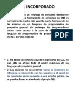 SQL INCORPORADO