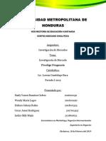 Informe Investigación de Mercados