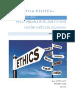 pengambilan keputusan etis dan faktor-faktor didalamnya.docx