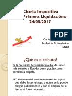 Charla Impositiva MNR 24-05-2017