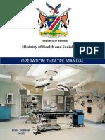Operation Theatre Manual