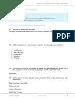 SITHCCC017 Assessment B Short Answer V1-0