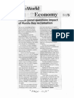 Business World, Feb. 12, 2019, House panel questions impact of Manila Bay reclamation.pdf