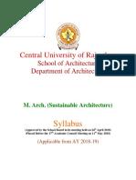 M. Arch. Syllabus Final (1)