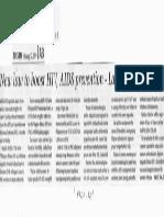 Manila Times, Feb. 12, 2019, New law to boost HIV, AIDS prevention - La Union lawmakers.pdf
