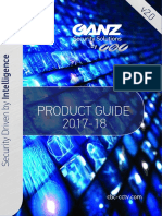 Ganz Product Guide