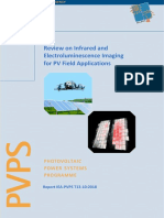 Review on IR and EL Imaging for PV Field Applications by Task 13