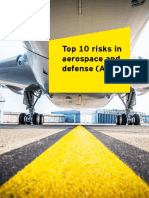 Top 10 risks in aerospace!