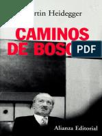 [2012] Heidegger - Caminos de Bosque (GA 5)