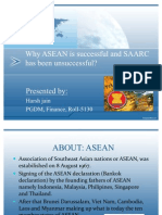 Case on Asean and Saarc