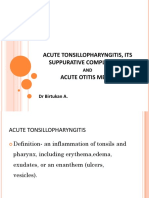 Acute Tonsillopharyngitis, Its Suppurative Complication_2
