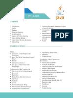 01 Java Contents