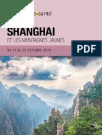 Shangai et les montagnes jaunes