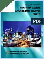 Statistik Daerah Kota Tangerang Selatan 2018