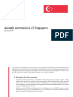 Accordo commerciale UE-Singapore