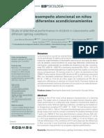 Estudio atencioal en niños con diferentes acondicionamientos luminicos.pdf