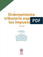 Ordenamiento tributario español Los impuestos (4ª edición)