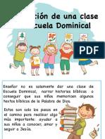 Elaboracion de Una Clase de Escuela Dominical