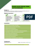 Instalaciones Eléctricas Para Autoconsumo