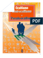 Annie Besant - Ocultismo, Semi-ocultismo e Pseudo-ocultismo