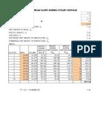 Slip Circle Calculation