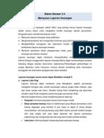 Bahan Bacaan 3.3. Menyusun Laporan Keuangan