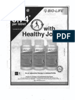 Advertisement BioLifeHealthyJoints