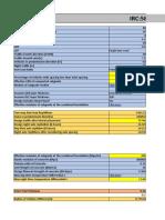 IRC 58 Excel