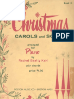 22523760 8459587 Sheet Music 36 Christmas Carols