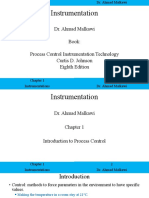 Process Control Instrumentation Technology 8th Ed