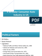 Group 9 _Sec A_ 4 Wheeler Consumer Auto Industry in US