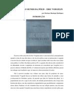 Resenha Do Volume 2 de Ordem e História-o-mundo-da-polis