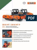 Cilindru Compactor Hamm 3518