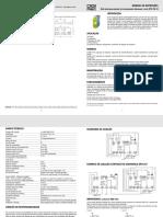 Manual Do Relé de Segurança Dpx-257 t4