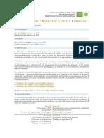 Convocatoria Cohorte IV - Maestría en Didáctica de La Lengua