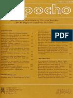 Mapocho Revista sobre humanidades y ciencias sociales 1993