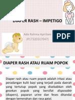 DIAPER RASH – IMPETIGO.pptx