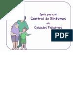 CONTROL DE SÍNTOMAS EN CUIDADOS PALIATIVOS