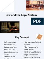 Law and Legal System