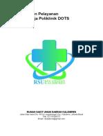 Pedoman Pelayanan Unit Kerja Poliklinik Dots