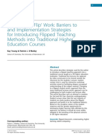 Making flipped learning work