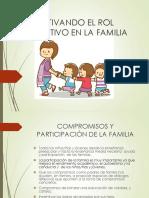 Activando El Rol Educativo en La Familia.