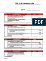 ISO 45001 2018 Audit Check List French