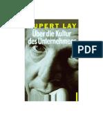 Lay Über Die Kultur Des Unternehmens