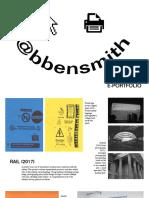 @bbensmith web portfolio