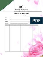 Medical Record Rcl