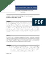 DPyGES - Programa Política y Gestión de Ciencia y Tecnología en La Educación Superior