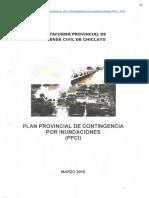 Contingencia Por Inundaciones Ppci Chiclayo